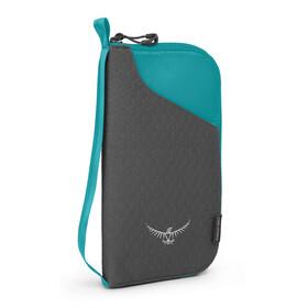 Osprey Document  - Cartera de viaje - verde/Turquesa